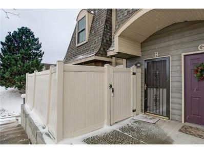 1370 S Idalia Street UNIT H, Aurora, CO 80017 - MLS#: 8892049