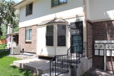 1715 S Allison Street UNIT B, Lakewood, CO 80232 - #: 9053707