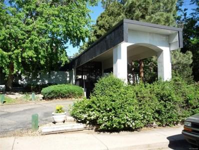 2375 S Linden Court UNIT 311, Denver, CO 80222 - #: 9075495