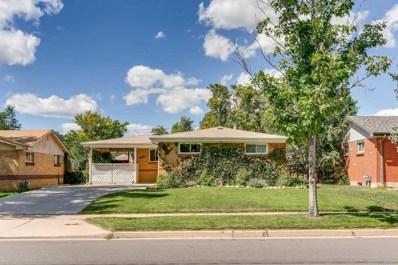 1825 S Zuni Street, Denver, CO 80223 - MLS#: 9089927