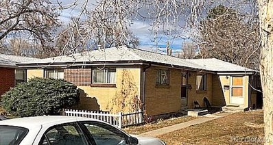 2827 W Park Place, Denver, CO 80219 - MLS#: 9103684