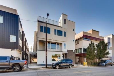 4537 N Tennyson Street UNIT 2, Denver, CO 80212 - MLS#: 9104266