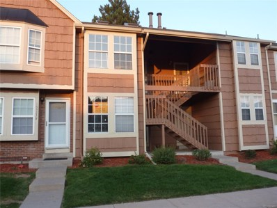 16923 E Whitaker Drive UNIT H, Aurora, CO 80015 - MLS#: 9108572