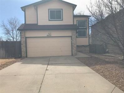 6635 Chantilly Place, Colorado Springs, CO 80922 - MLS#: 9127724