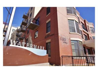 410 Acoma Street UNIT 409, Denver, CO 80204 - MLS#: 9144740