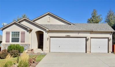 266 All Sky Drive, Colorado Springs, CO 80921 - MLS#: 9160244