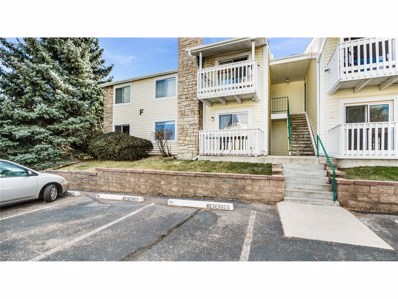8555 Fairmount Drive UNIT F104, Denver, CO 80247 - MLS#: 9205165