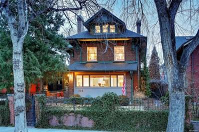 714 Humboldt Street, Denver, CO 80218 - #: 9216047