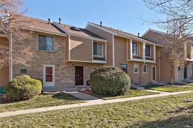 8749 W Cornell Avenue UNIT 6, Lakewood, CO 80227 - #: 9289993