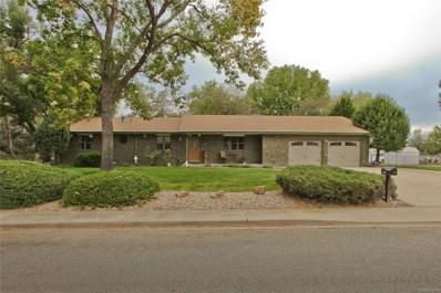 12707 Hillcrest Drive, Longmont, CO 80504 - MLS#: 9295870