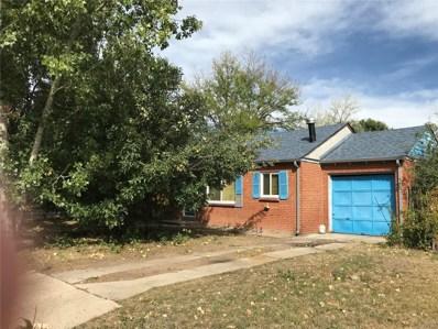 1352 Yates Street, Denver, CO 80204 - MLS#: 9297367