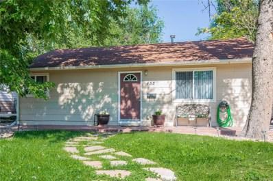 452 S Xavier Street, Denver, CO 80219 - MLS#: 9454669