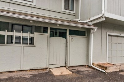 12111 Bannock Street UNIT D, Westminster, CO 80234 - MLS#: 9503464