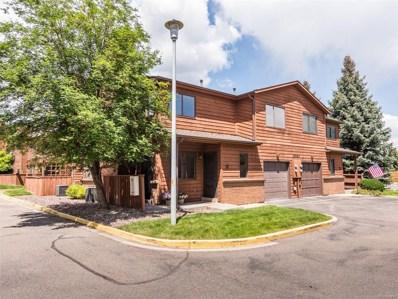 10280 W Jewell Avenue UNIT B, Lakewood, CO 80232 - MLS#: 9540386