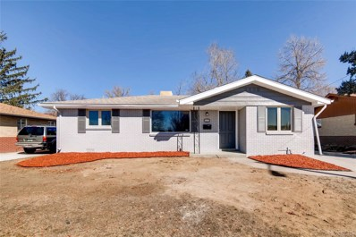 5457 E Asbury Avenue, Denver, CO 80222 - #: 9577066