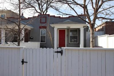 3741 Alcott Street, Denver, CO 80211 - MLS#: 9752682