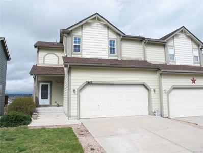 1445 Willow Oak Road, Castle Rock, CO 80104 - MLS#: 9770540