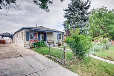 3115 W Longfellow Place, Denver, CO 80221 - #: 9826655
