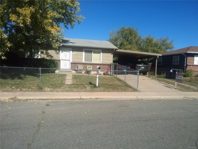 13191 Olmsted Place, Denver, CO 80239 - MLS#: 9888733