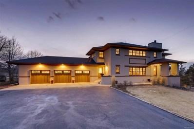 3591 Palmer Ridge Drive, Parker, CO 80134 - MLS#: 9899621