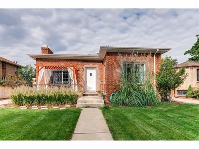 1545 Hudson Street, Denver, CO 80220 - MLS#: 9902045