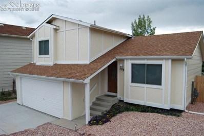 5535 Montgomery Terrace, Colorado Springs, CO 80917 - MLS#: 1014764