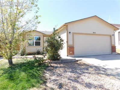 945 Lords Hill Drive, Fountain, CO 80817 - MLS#: 1037714