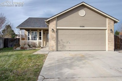 5536 Kingsboro Drive, Colorado Springs, CO 80911 - MLS#: 1063943