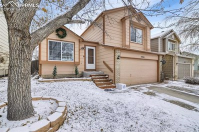4950 Slickrock Drive, Colorado Springs, CO 80923 - MLS#: 1080670