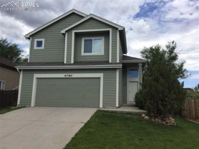 4790 Sweetgrass Lane, Colorado Springs, CO 80922 - MLS#: 1093122