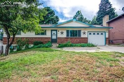 3475 Montebello Drive, Colorado Springs, CO 80918 - MLS#: 1130130