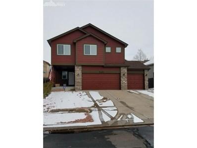 5283 Stetson Meadows Drive, Colorado Springs, CO 80922 - MLS#: 1132744