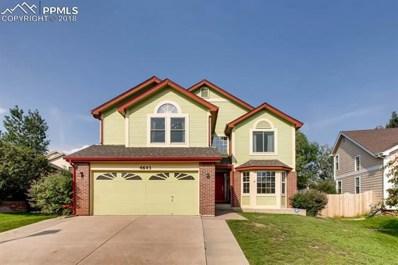 4643 Hotspur Drive, Colorado Springs, CO 80922 - MLS#: 1196528