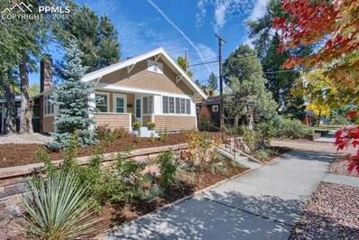 1014 E Willamette Avenue, Colorado Springs, CO 80903 - MLS#: 1200917