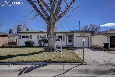 137 Doris Drive, Colorado Springs, CO 80911 - MLS#: 1219368