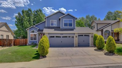 6286 Whirlwind Drive, Colorado Springs, CO 80923 - MLS#: 1222283