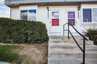 6687 Proud Eagle Court, Colorado Springs, CO 80915 - MLS#: 1260016
