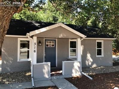 316 S Hancock Avenue, Colorado Springs, CO 80903 - MLS#: 1277232