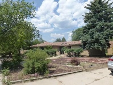 4814 Constitution Avenue, Colorado Springs, CO 80915 - MLS#: 1295775