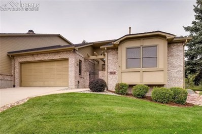 2802 Tenderfoot Hill Street, Colorado Springs, CO 80906 - MLS#: 1334170
