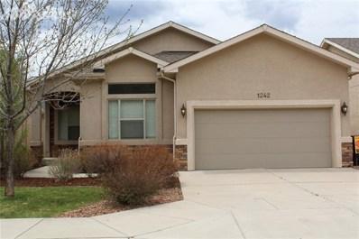 1242 Ethereal Circle, Colorado Springs, CO 80904 - MLS#: 1423684