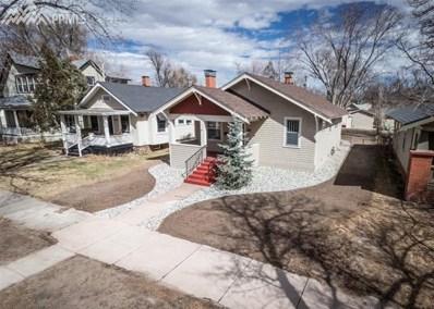 615 N Cedar Street, Colorado Springs, CO 80903 - MLS#: 1425112