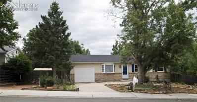 3135 El Canto Drive, Colorado Springs, CO 80918 - MLS#: 1455448