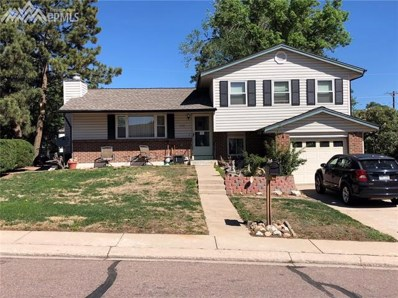 2310 Laramie Drive, Colorado Springs, CO 80910 - MLS#: 1514999