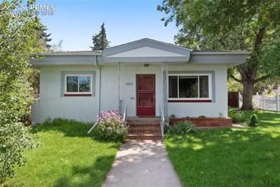 1403 N Foote Avenue, Colorado Springs, CO 80909 - MLS#: 1600518