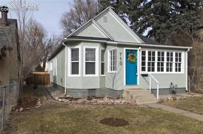 710 E High Street, Colorado Springs, CO 80903 - MLS#: 1606404