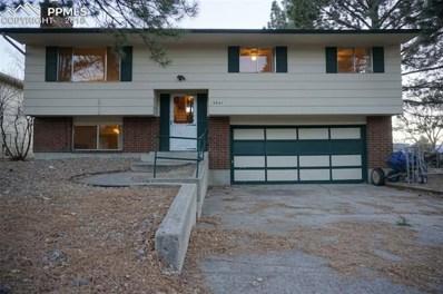 4641 Debonair Circle, Colorado Springs, CO 80917 - MLS#: 1643937