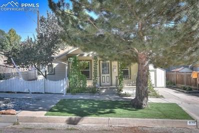 530 W Boulder Street, Colorado Springs, CO 80905 - MLS#: 1699113