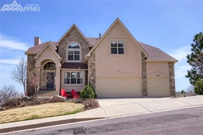 465 Paisley Drive, Colorado Springs, CO 80906 - MLS#: 1763799