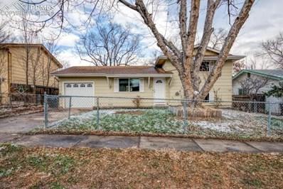 2147 Fernwood Drive, Colorado Springs, CO 80910 - MLS#: 1788921